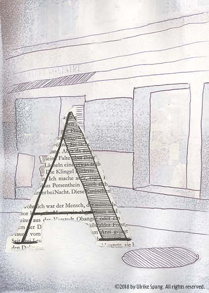 illustration artwork ulrike spang grafik collage a