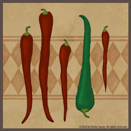 Ulrike spang illustration chili