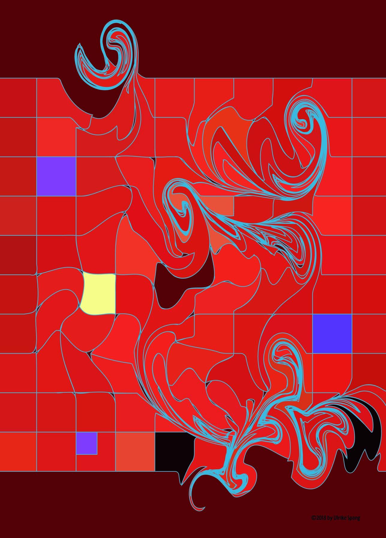 ulrike spang illustration rot