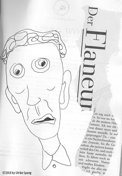 ulrike spang illustration zeichnung collage