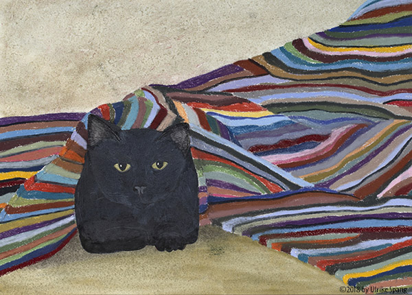 ulrike spang illustration katze