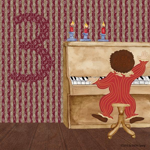 ulrike spang illustration klavier bilderbuch
