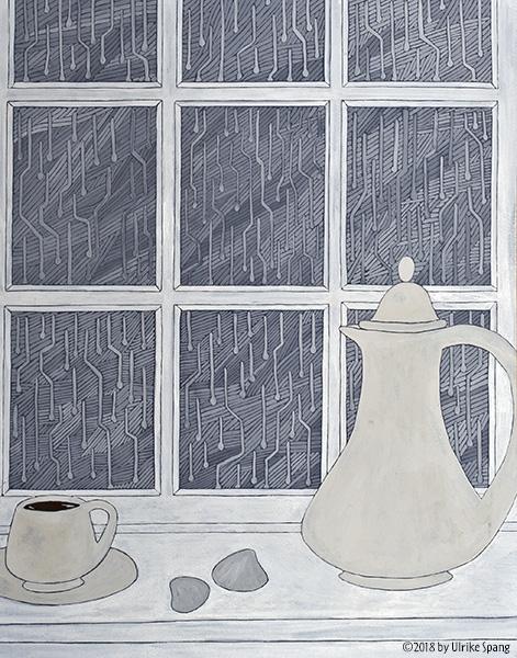 ulrike spang illustration regentag