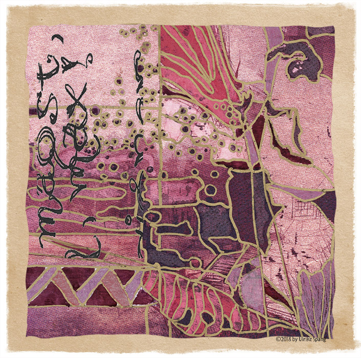 ulrike spang illustration pink abstrakt