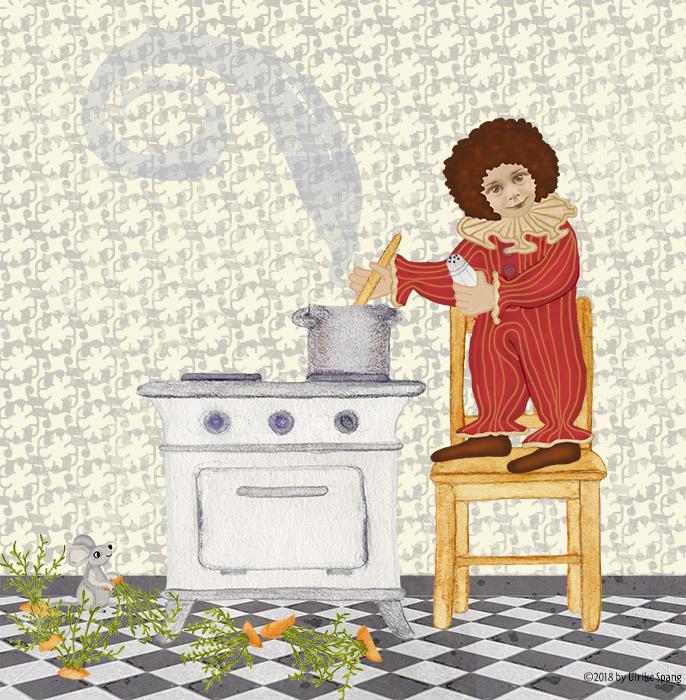 ulrike spang illustration , ulli verlag