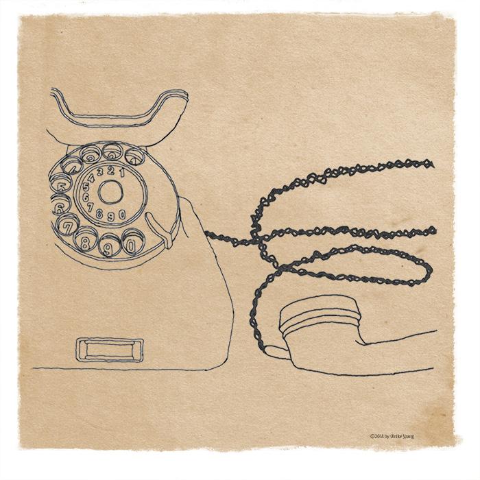 ulrike spang, illustration, ulli verlag, illustriertes kalenderblatt