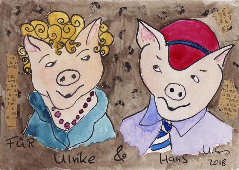 ulrike spang illustration, ulli verlag comicfigur